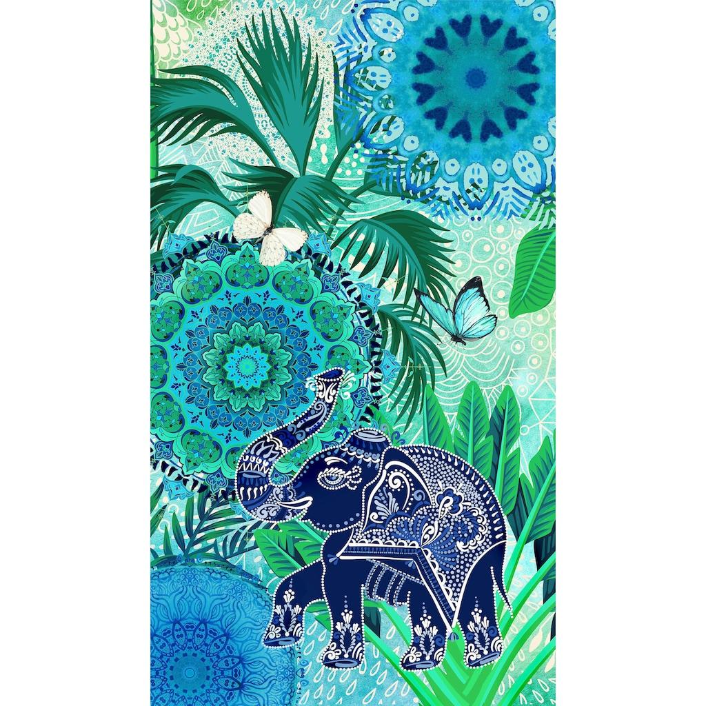 hip Strandtuch »Isara«, (1 St.), mit Mandalas und Elefant