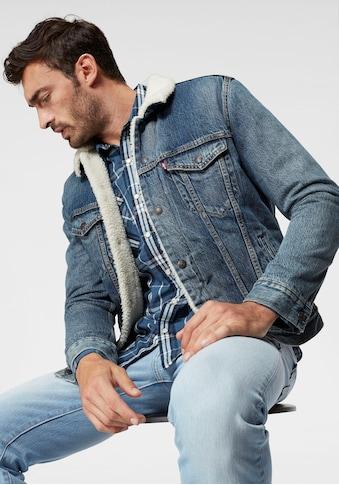 Levi's® Jeansjacke »TYPE 3 SHERPA TRUCKER« kaufen