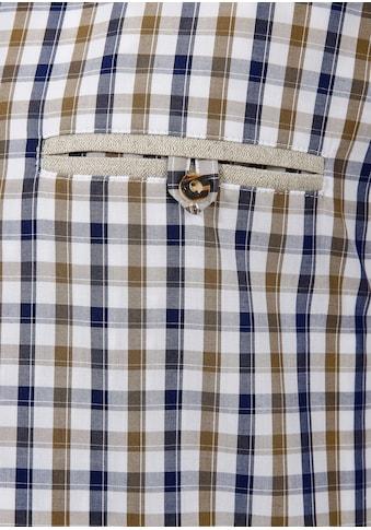 OS - Trachten Trachtenhemd mit Stickerei kaufen