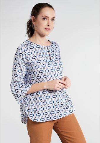 Eterna Satinbluse »MODERN CLASSIC«, Dreiviertelarm Bluse kaufen