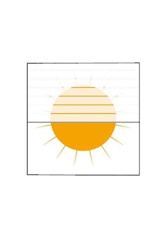 Plissee nach Mass, »Medoc«, sunlines, Lichtschutz, mit Bohren, verspannt kaufen