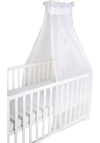 """roba® Betthimmel """"Air safe asleep® uni, weiss, mesh"""" kaufen"""