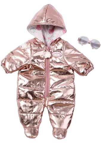 """Baby Annabell Puppenkleidung """"Deluxe Schneeanzug, rosegoldfarben"""" kaufen"""