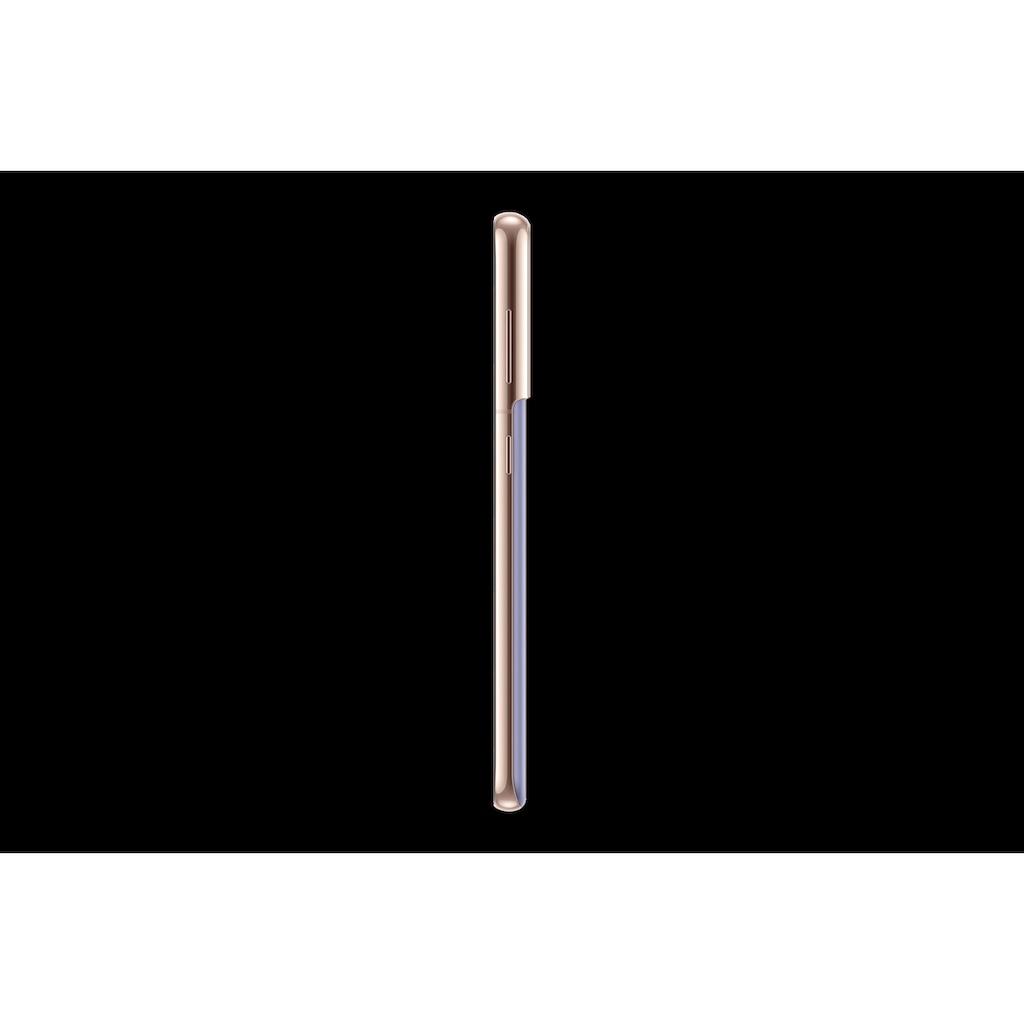 "Samsung Smartphone »Galaxy S21«, (15,84 cm/6,2 "", 128 GB Speicherplatz, 64 MP Kamera), 128GB silver 5G"