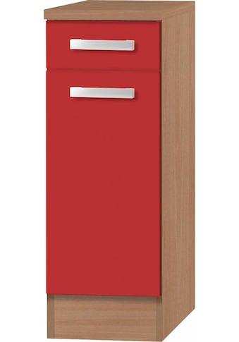 OPTIFIT Unterschrank »Odense«, 30 cm breit, mit 1 Tür und 1 Schubkasten, mit 28 mm... kaufen