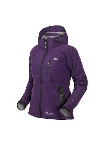 Trespass Softshelljacke »Bella Damen Softshell-Jacke mit Kapuze, wasserfest« kaufen