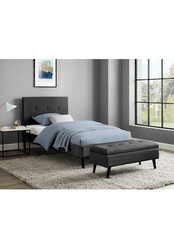 INOSIGN Bettbank »Freya«, Sitzfläche gesteppt, mit Strauraum kaufen