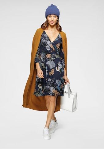Laura Scott Jerseykleid, mit Wickel-Ausschnitt - NEUE KOLLEKTION kaufen