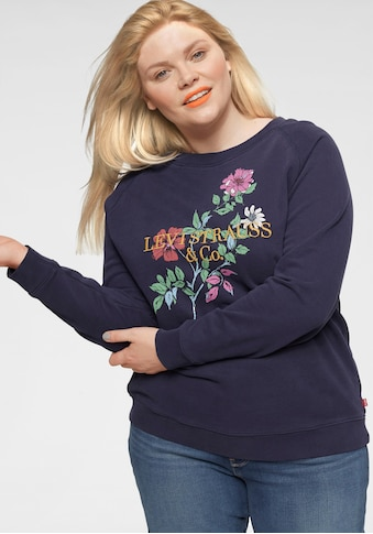 Levi's® Plus Sweatshirt »Plus Relaxed Graphic Crew« kaufen