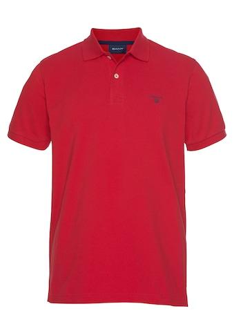 Gant Poloshirt »Summer Pique«, mit kleinem Marken-Logo kaufen