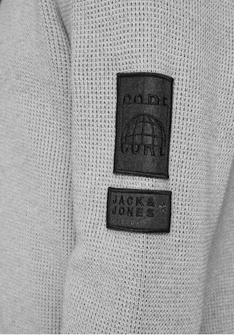 Jack & Jones Kapuzenpullover »BADGE KNIT HOOD« kaufen