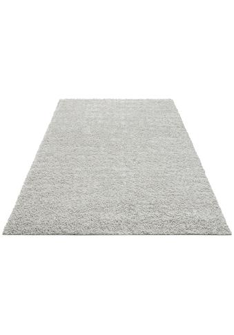 Hochflor - Teppich, »Shaggy 30«, Home affaire, rechteckig, Höhe 30 mm, maschinell gewebt kaufen