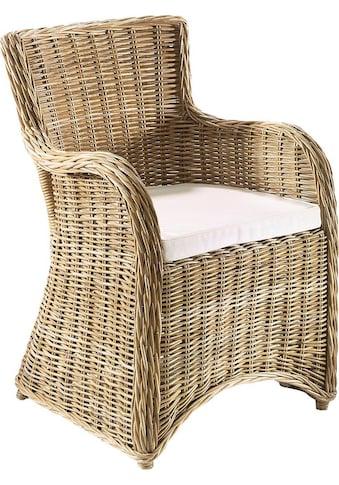 Home affaire Sessel »Bristol«, Rattan kaufen