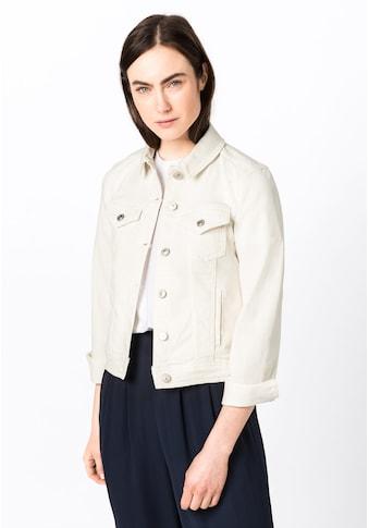 HALLHUBER Jeansjacke »Jeansjacke aus Candiani Denim« kaufen