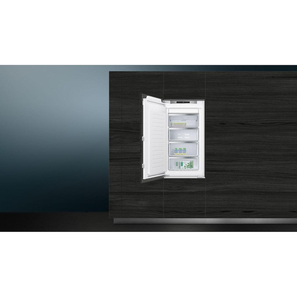 SIEMENS Einbaugefrierschrank »GI31NACE0 A++«, 102,1 cm hoch, 55,8 cm breit
