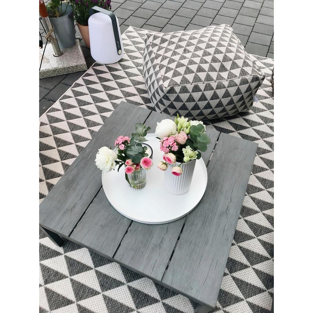 bougari Teppich »Tahiti«, rechteckig, 5 mm Höhe, In- und Outdoor geeignet, Wendeteppich, Wohnzimmer