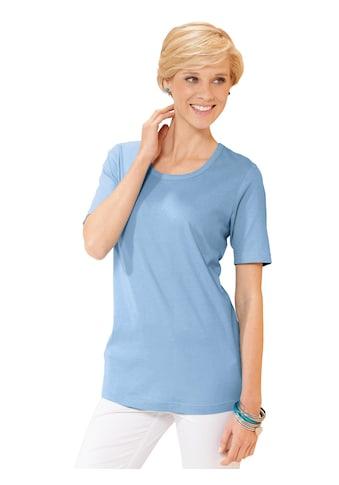Classic Basics Shirt mit Rundhals - Ausschnitt kaufen