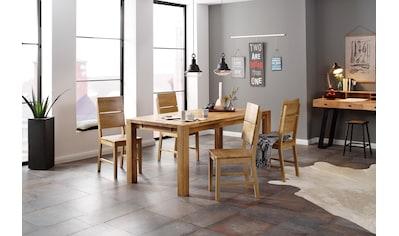Holzzone Esszimmerstuhl »Kai«, 2er Set, aus Massivholz kaufen