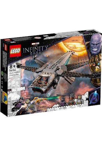 LEGO® Konstruktionsspielsteine »Black Panthers Libelle (76186), Marvel Avengers Movie... kaufen