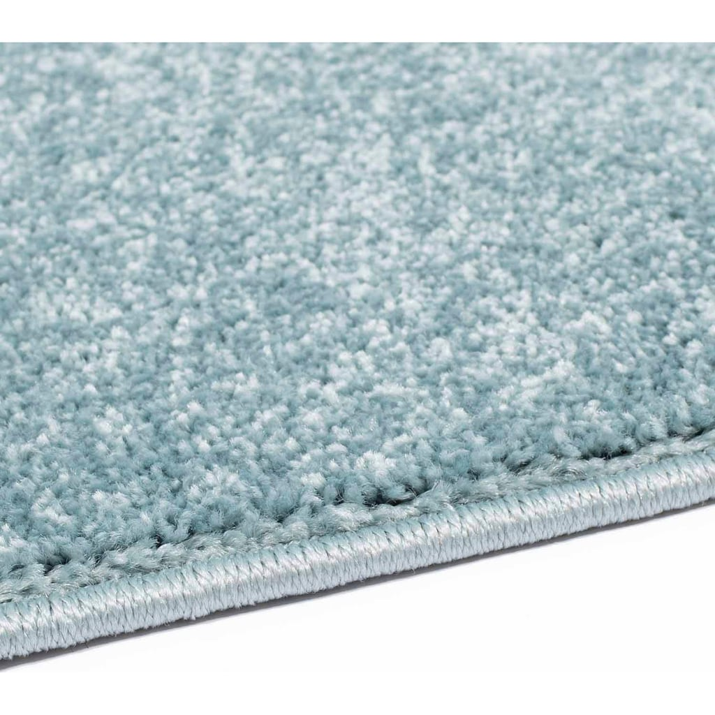 Carpet City Teppich »Moda Soft 2081«, rechteckig, 11 mm Höhe, pastell Farben, Kurzflor, Wohnzimmer