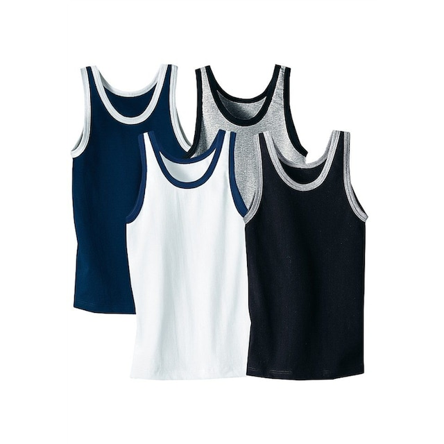 AUTHENTIC UNDERWEAR Unterhemd, 4 Stück