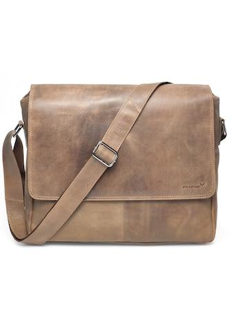 Packenger Messenger Bag »Vethorn, hellbraun«, mit 15-Zoll Laptopfach kaufen