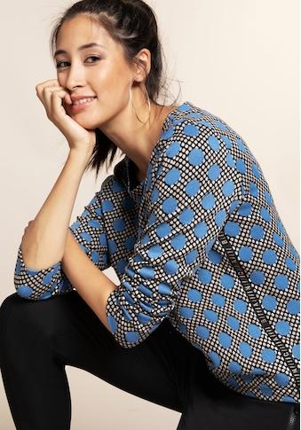 bianca Rundhalsshirt »JULIE«, mit stylischem Punkteprint in aktueller Trendfarbe kaufen
