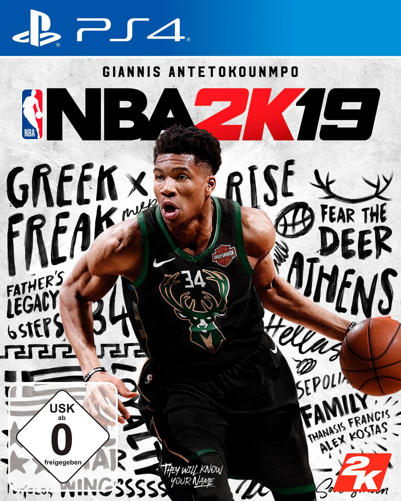 Image of NBA 2K19 PlayStation 4