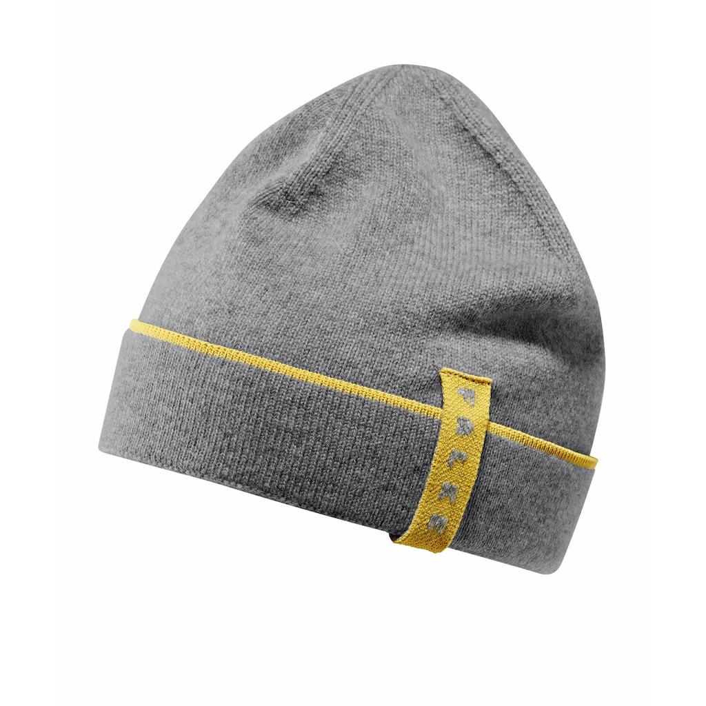 FALKE Strickmütze »Mütze«, aus Schurwolle und Kaschmir