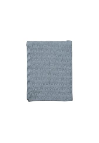 Tagesdecke »Deco Knit Hellbla« kaufen
