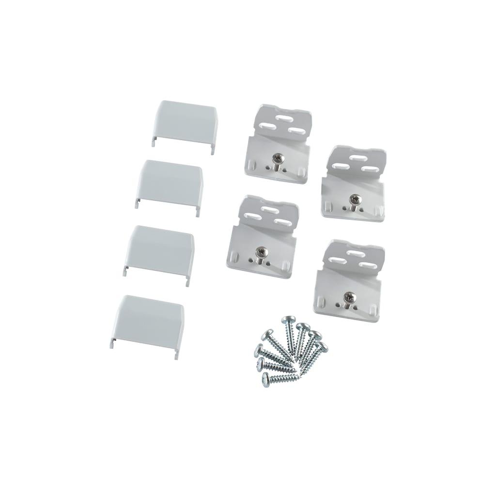 sunlines Sichtschutzzüge Montagezubehör, für die Rahmen/-Wandmontage von Plissees