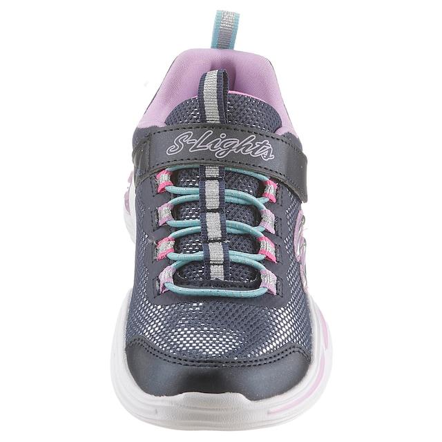 Skechers Kids Sneaker »POWER PETALS Blinkschuh«