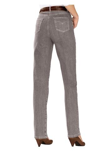 Casual Looks  Jeans mit festem Bund und Gürtelschlaufen kaufen