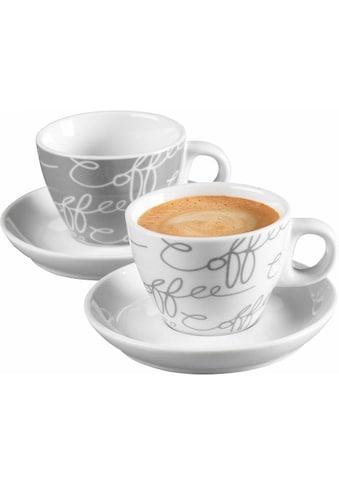 Ritzenhoff & Breker Espressotasse »Cornello Grey«, (Set, 4 tlg.) kaufen