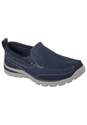 Skechers Slip-On Sneaker »SUPERIOR«, mit Kontrastnähten kaufen