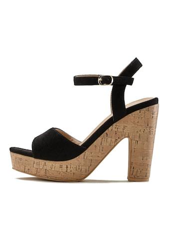 LASCANA High-Heel-Sandalette, mit Blockabsatz kaufen