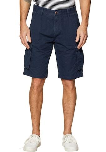 Esprit Cargoshorts, unifarben kaufen