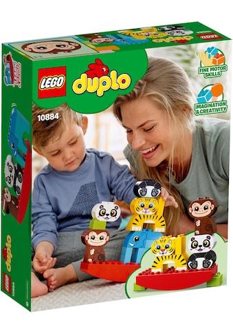 """LEGO® Konstruktionsspielsteine """"Meine erste Wippe mit Tieren (10884), LEGO® DUPLO™"""", Kunststoff, (15 - tlg.) kaufen"""