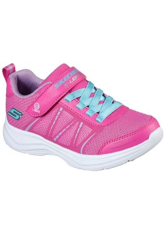 Skechers Kids Sneaker »GLIMMER KICKS«, mit Klettverschluss und Gummizug kaufen
