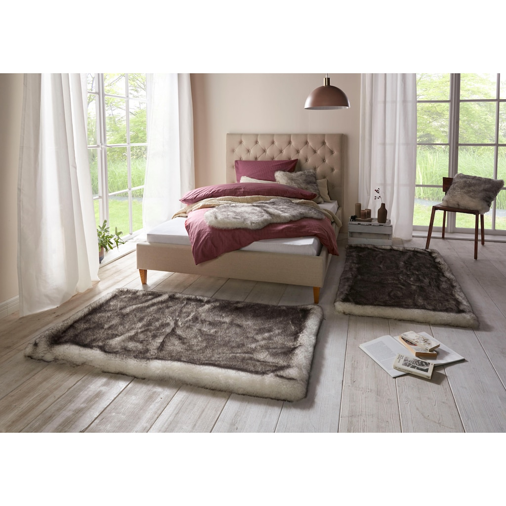 MINT RUGS Bettumrandung »Superior«, Kunstfell