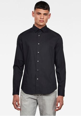 G-Star RAW Langarmhemd »Dressed Super Slim Hemd« kaufen