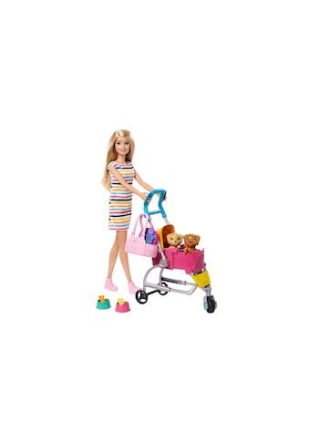Barbie Spielfigur »Hundebuggy mit Puppe«, (Set) kaufen