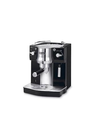 Siebträgermaschine, Delonghi, »EC 820.B Schwarz, Silberfarben« kaufen