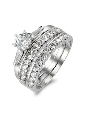 Fingerring  Ringe 925 mit Zirkonias kaufen