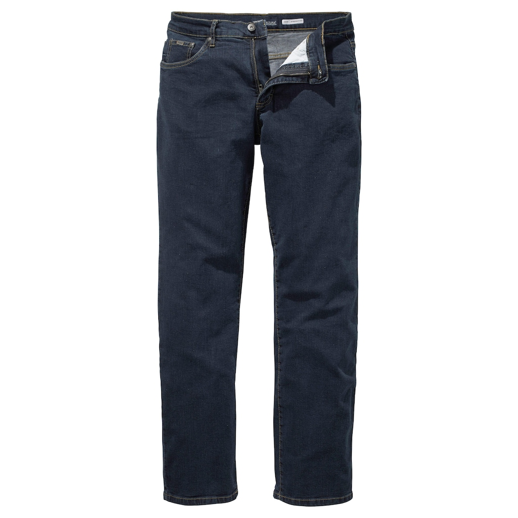 Arizona Stretch-Jeans »John«, (Packung, 2 tlg.), Straight Fit