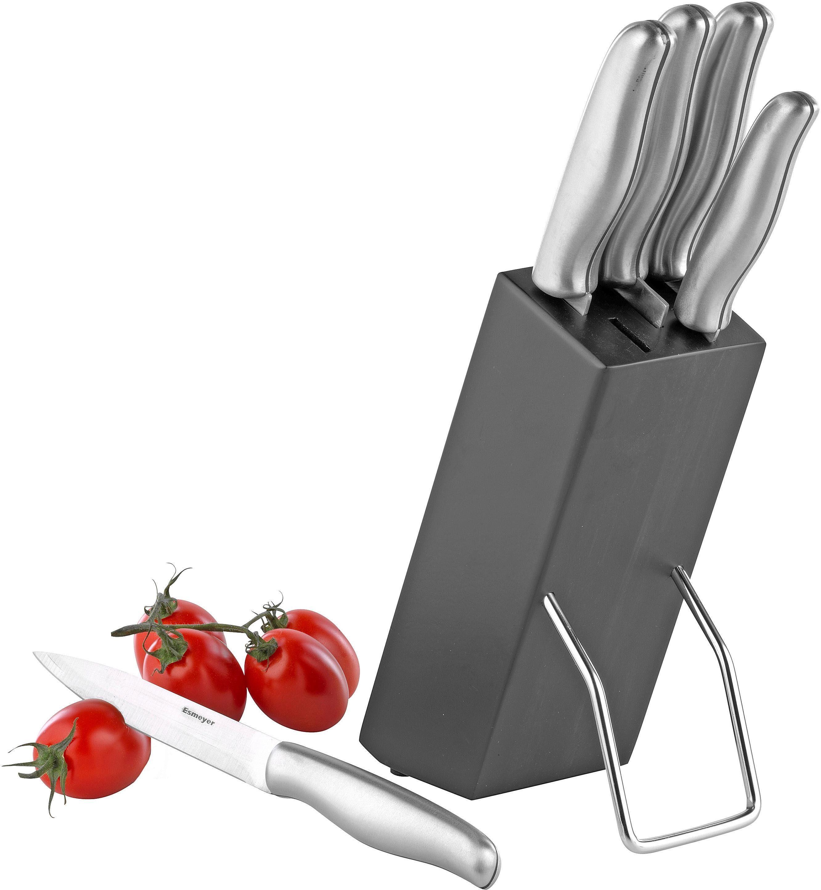 Esmeyer Messerblock Mars (6tlg) Wohnen/Haushalt/Haushaltswaren/Besteck & Messer/Küchenmesser-Sets/Messerblöcke