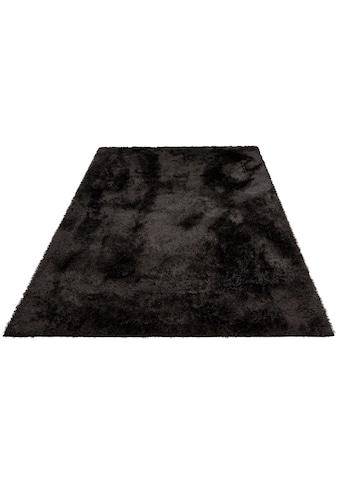 Hochflor - Teppich, »Malin«, Home affaire, rechteckig, Höhe 43 mm, maschinell gewebt kaufen