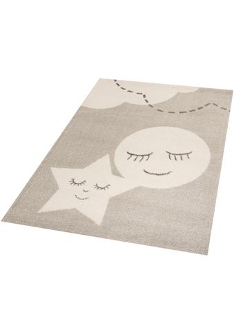 Zala Living Kinderteppich »Star and Moon«, rechteckig, 18 mm Höhe, Spielteppich, besonders weich durch Microfaser kaufen