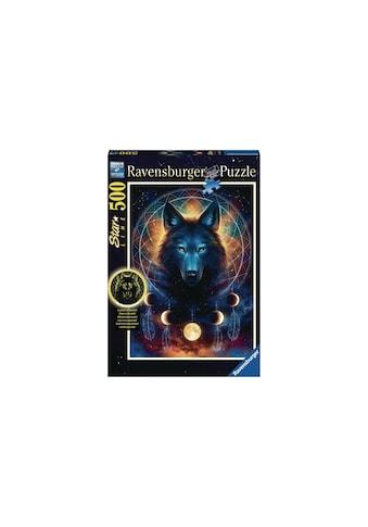Ravensburger Puzzle »Leuchtender Wolf« kaufen