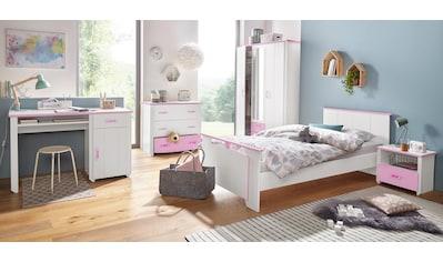 Parisot Jugendzimmer-Set »Biotiful«, (Set, 4 tlg.), mit 3-trg. Kleiderschrank kaufen
